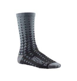 Mavic Ksyrium Merino Graphic Sock Gray L