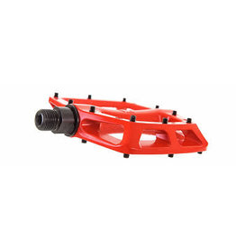 Fat Spanner Fatties Flatties Pedals RED