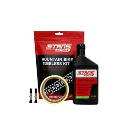 Stans No tubes Mountain bike Tubeless kit 25mm tape 35mm valve