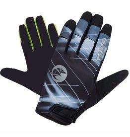 Chiba Chiba Twister gloves Black
