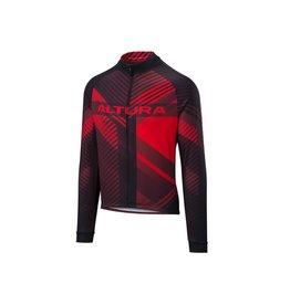 Altura Altura team LS jersey red/black Medium