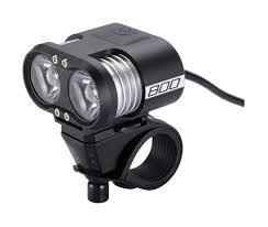 BBB BLS-67UK - Scope Headlight 800 lm LED (Black)TF