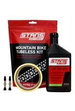 Stans No tubes mountain bike Tubeless kit 27mm tape 35mm valve