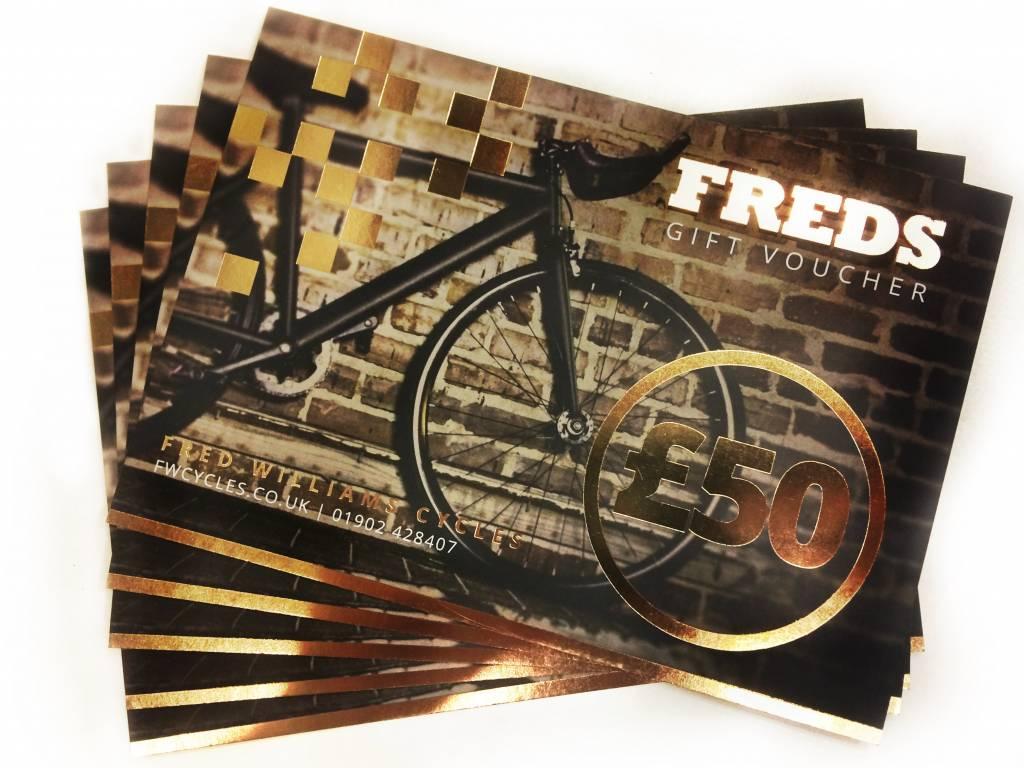 Freds Freds £50 Gift Voucher