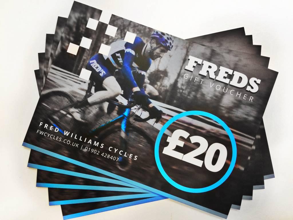 Freds Freds £20 Gift Voucher
