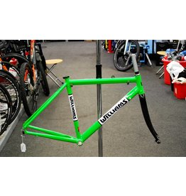 Williams Williams alloy road frame, Kawasaki Green (Small)