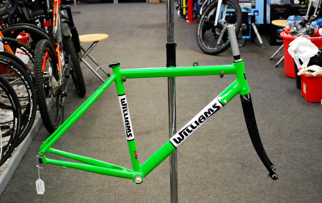 Williams Williams road frame Green