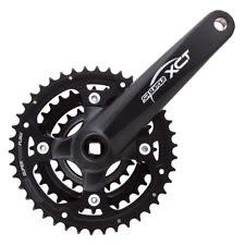 CW-XCT-T312 22/32/42T Chainset: 170mm Black