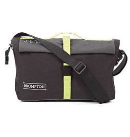 Roll Top Bag includes cover and frame Nylon Grey Black Lime Green
