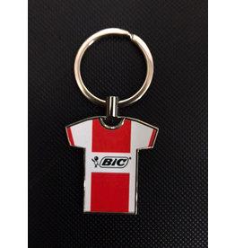 BIC (Red) Jersey Keyring