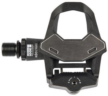Look LOOK KEO 2 MAX PEDALS WITH KEO GRIP CLEAT: BLACK