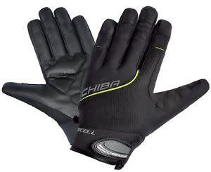 Chiba Chiba BioXCell Full Fingered Touring Glove in Black