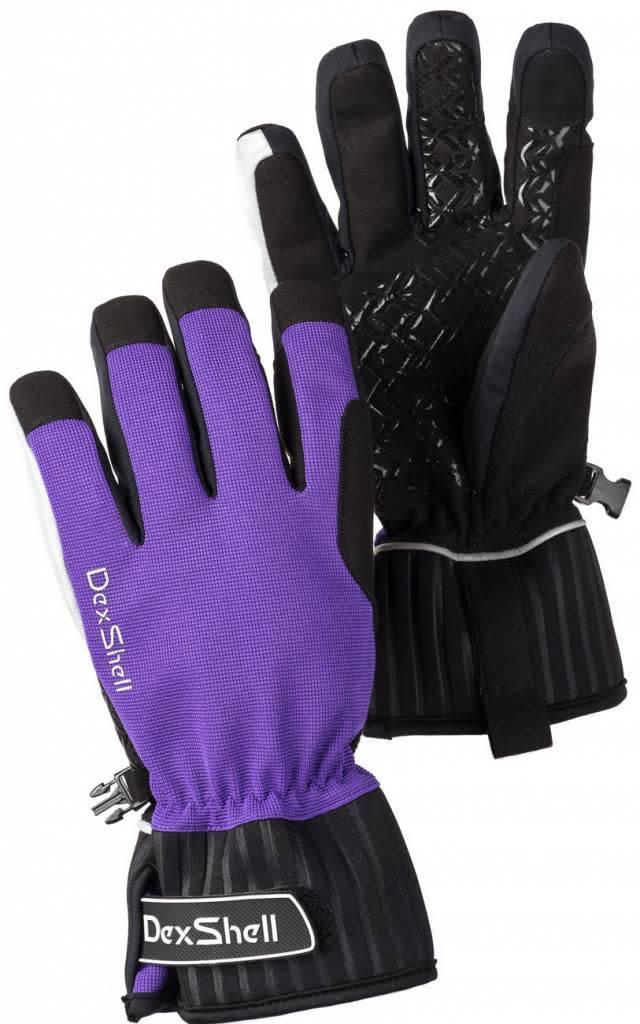 DexShell Ultra Shell outdoor gloves Purple