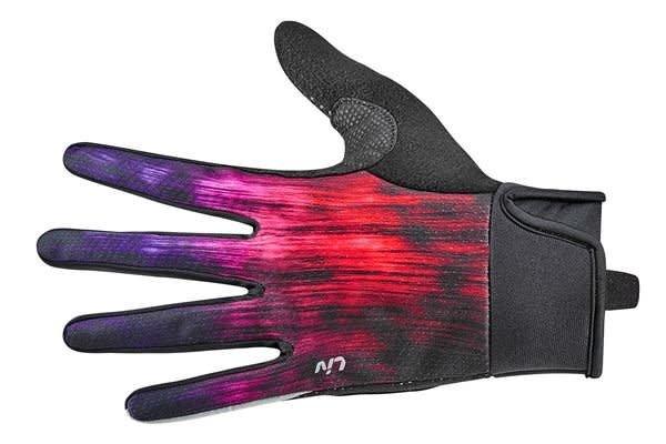 LIV LIV Zorya Long Finger Glove Purple/Fuchsia/Red