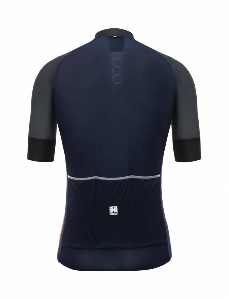 Santini santini fs s/s jersey airform 3.0 grey