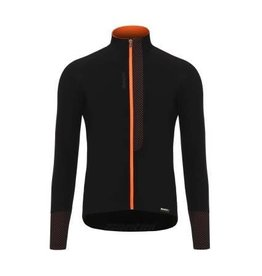 SANTINI FASHION VEGA LONG SLEEVE JERSEY 2018: FLASHY ORANGE