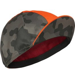Madison Sportive Poly Cotton Cap Hex Camo Dark Olive/ Chilli Red