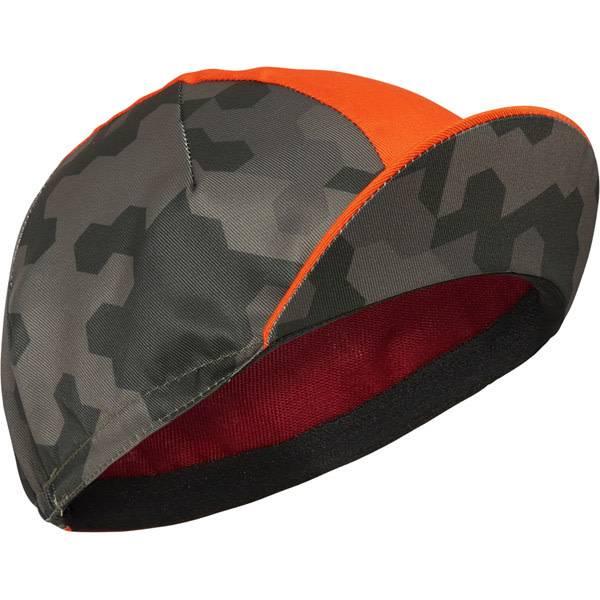 Madison Sportive Poly Cotton Cap Hex Camo Dark Olive/ Chilli Red