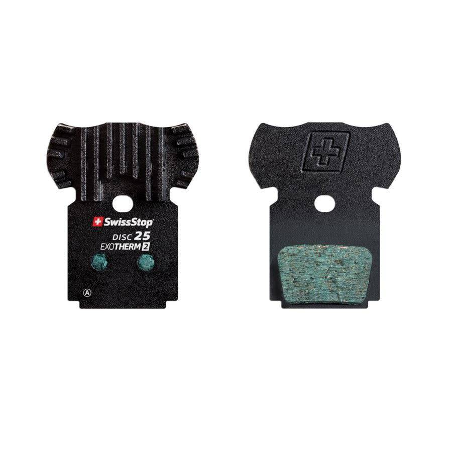 SwissStop SwissStop, EXOTherm 2, Disc Brake Pads, Shape: Shimano K-Type/L-Type, Metallic, Pair