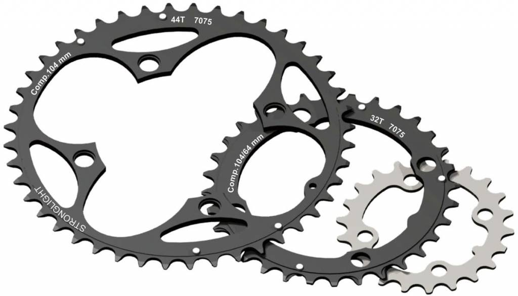4-Arm/104mm Chainring: 40T Without Pins