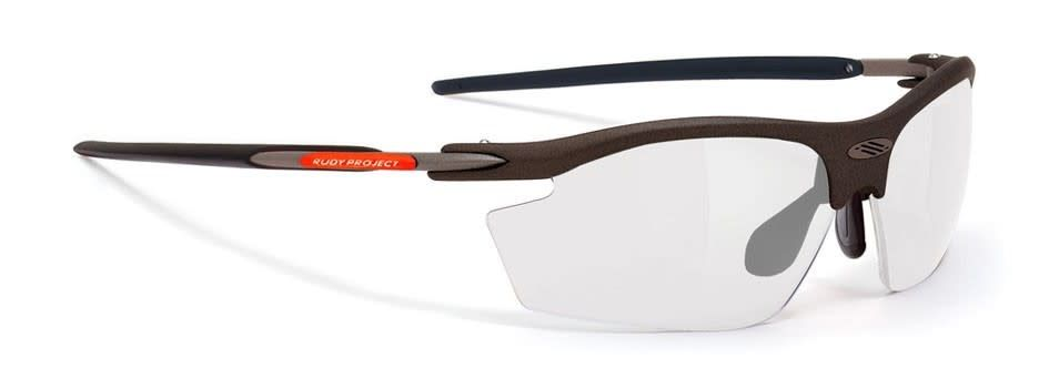 Rudy Rydon Glass M/BLK Orange Fluo Impactx 2 Laser black