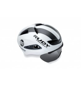 Rudy Project Rudy Boost 01 Helmet White/Grap Matte - L/XL + Optical sheild