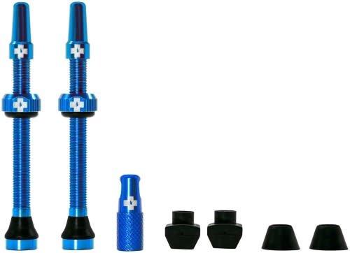 Muc-Off, Tubeless Valve, Presta, 60mm, blue, Pair