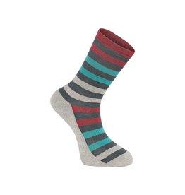 Isoler Merino 3-season sock, Ink Navy Pop Small