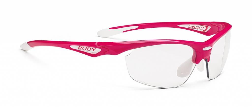 RUDY Stratofly SX Rubin Gloss Photo Clear Lens