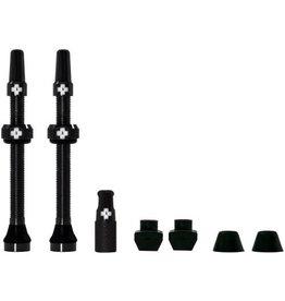Muc-Off Presta Valve Stem, 60mm Universal, Pair - Black