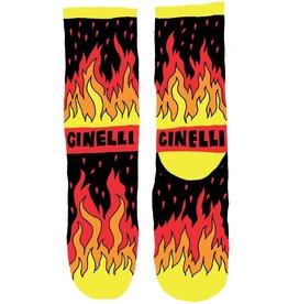 Cinelli Cinelli Flame Socks M/L