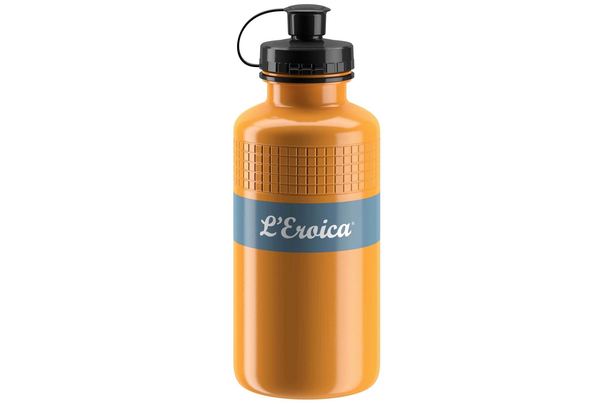 Elite L'Eroica Yellow/Black Squeeze Bottle 500ml