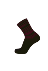 Santini Santini S9 Soffio Printed Socks XL Bordeaux