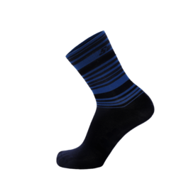 Santini Santini S9 Soffio Printed Socks M Blue