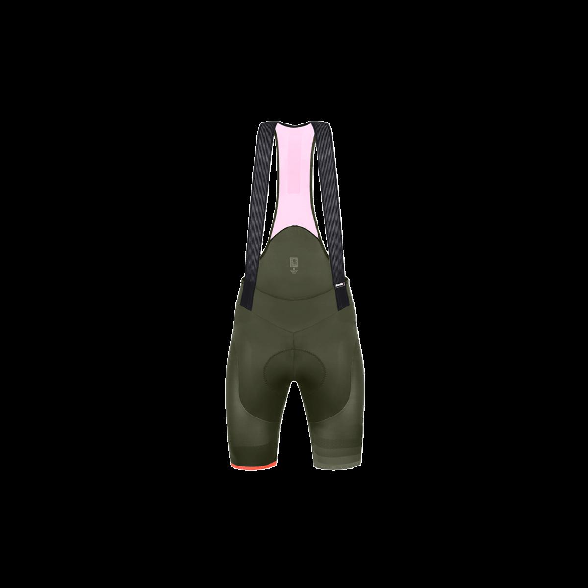 Santini Santini S9 Bib- Shorts TONO Design  L Black