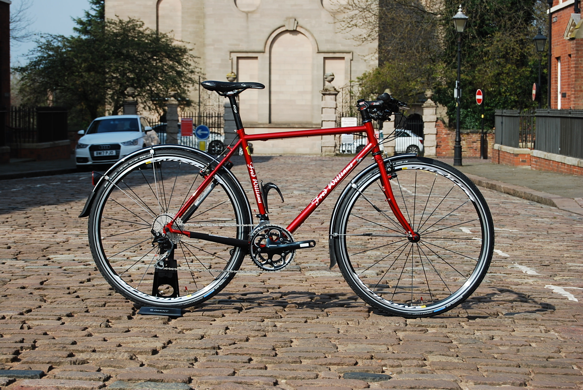Freds Fred Williams Steel Tourer Red 53cm