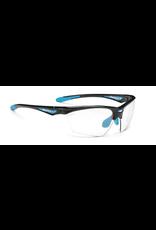 Rudy Project Men's Sunglasses Black Gloss / Photochromic Clear