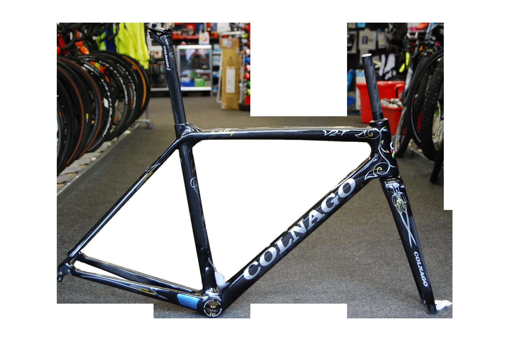 Colnago Colnago V2R Blk Gold 50s Frame