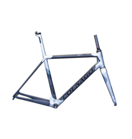 Colnago Colnago C 64 / 52s light grey lugs Blk Carbon