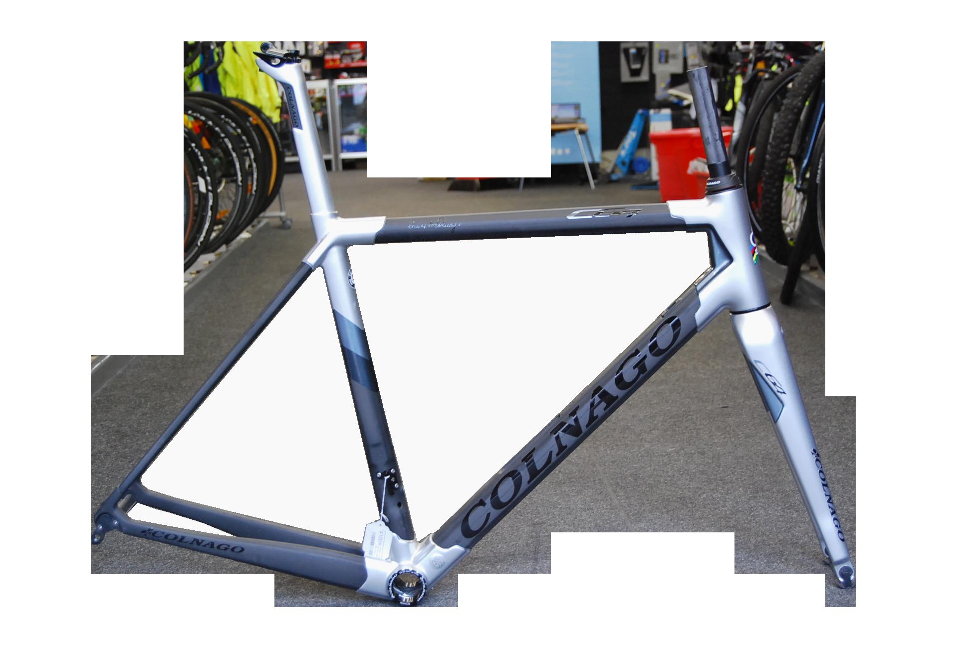 Colnago Colnago C 64 / 52s light grey lugs Blk Carbon