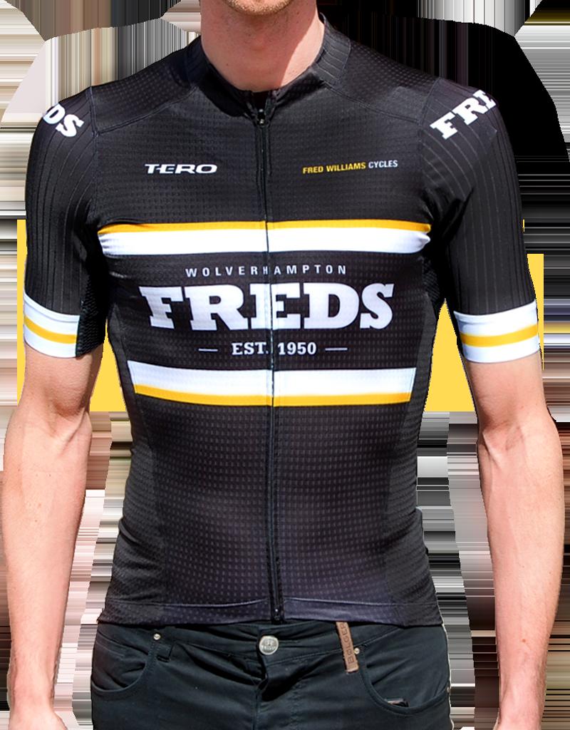 Freds Freds Aero Black Race Jersey