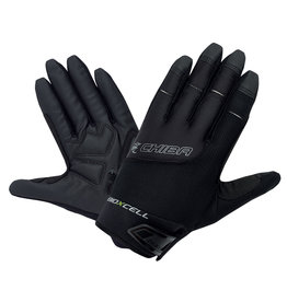 Chiba Chiba BioXCell Full Fingered Touring Gloves Black L/9