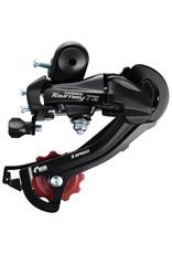 RD-TZ500 6-Speed Direct-Mount Rear Derailleur Black