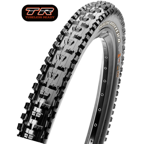High Roller II 29 x 2.30 60 TPI Folding Dual Compound ExO / TR tyre Black 29 x 2.30 inches DL