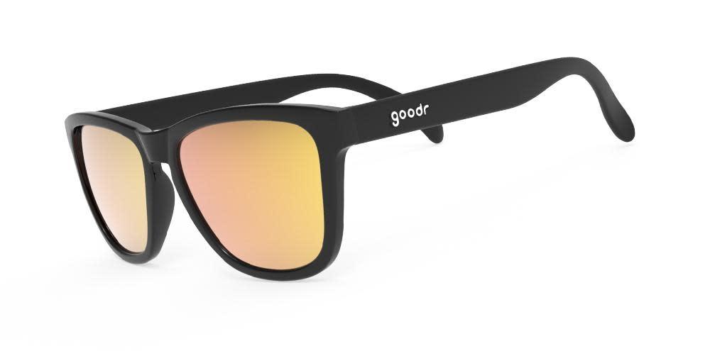 goodr Goodr Whiskey shots with Satan Sunglasses