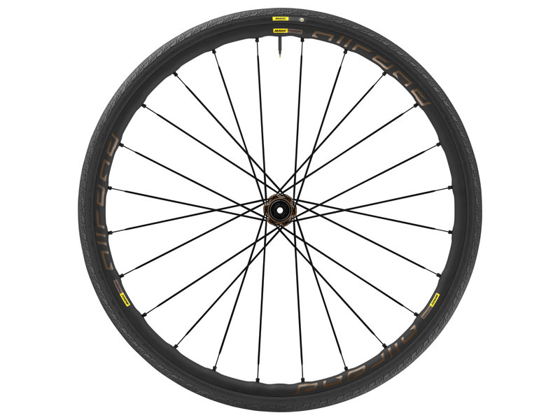 Mavic Mavic, Allroad Elite Disc, Wheel, Front, 700C / 622, Holes: 24, 12mm TA, 100mm, Disc Center Lock (FRONT)