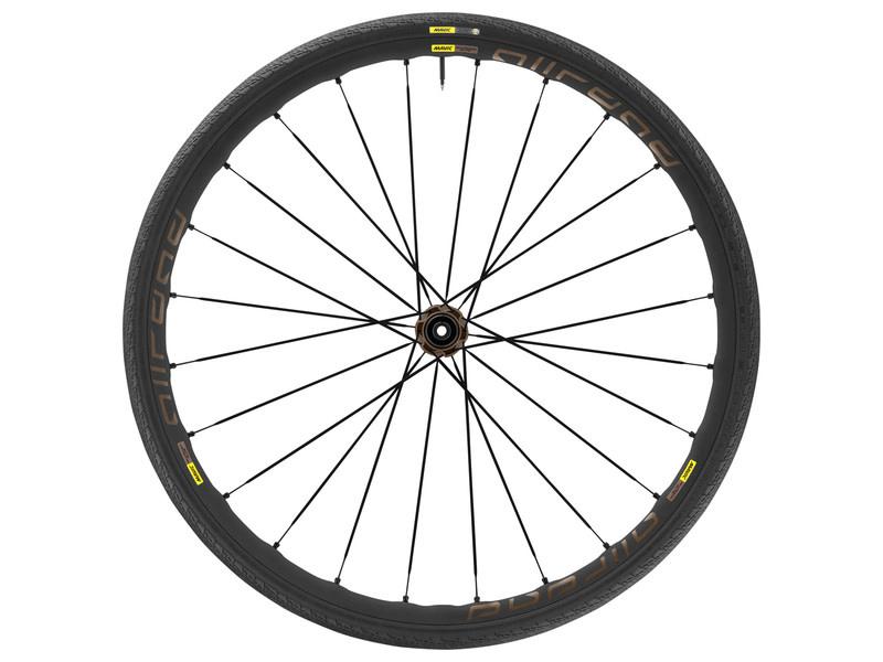 Mavic Mavic, Allroad Elite Disc, Wheel, Rear, 700C / 622, Holes: 24, 12mm TA, 142mm, Disc Center Lock, Shimano HG 11