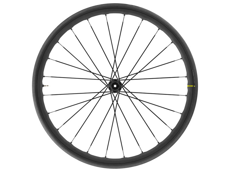 Mavic Mavic, Ksyrium Elite UST Disc, Wheel, Front, 700C / 622, Holes: 24, QR/12mm TA, 100mm, Disc Center Lock (FRONT