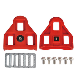 Wellgo RC-5 Look Delta cleat set red