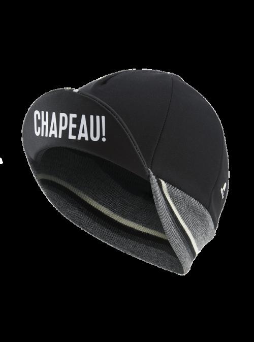 Chapeau! Chapeau!, Mens Winter Cap, Black, One Size